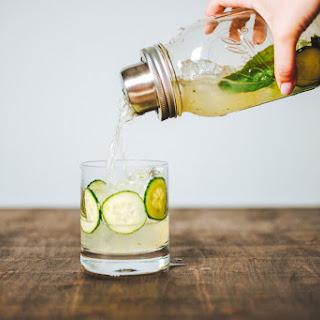 Cucumber Rickey Cocktail
