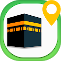 Qibla Direction Finder Compass & Prayer Timings icon