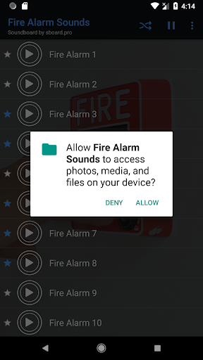 Fire Alarm Sounds ~ Sboard.pro 1.1.1 screenshots 1
