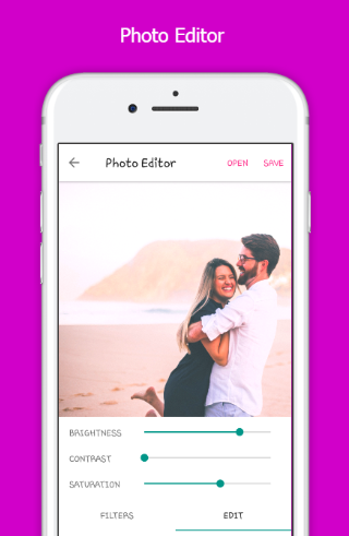 Photo B612 - Couple Photo Editor & Effects 1.0 screenshots 1