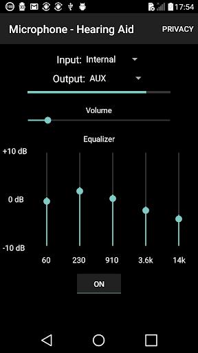 microphone - hearing aid screenshot 1
