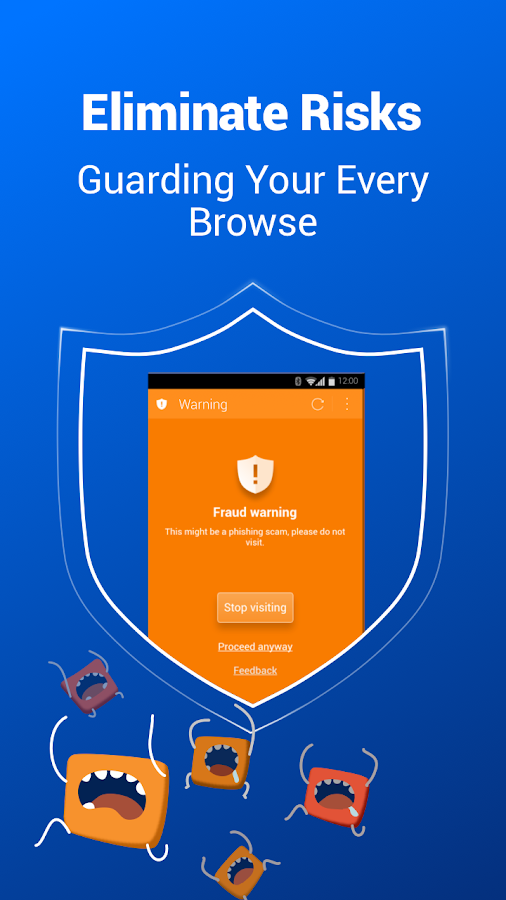 Screenshots of CM Security Browser - Private for iPhone