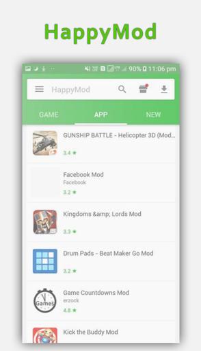 Premium Apps HappyMod 1.0 screenshots 2