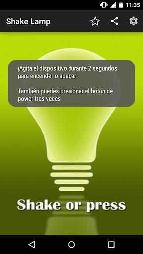 Shake Lamp Flashlight