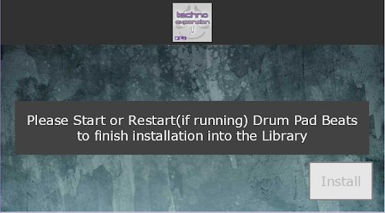 Drum Pad Beats - Techno ExpKit 1 Screenshot