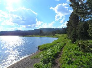 Photo: hiking along the fisherman's trail