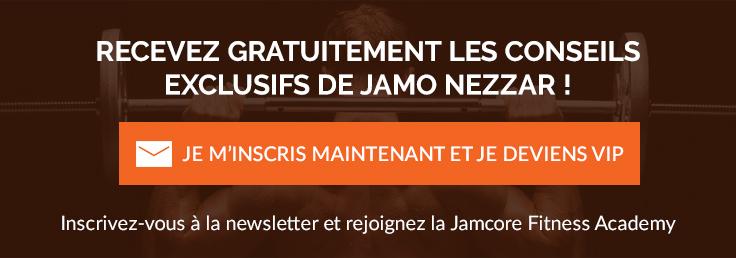 Inscrivez-vous à la newsletter de la Jamcore Fitness Academy