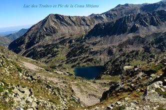 Photo: Lac des Truites et Pic de Coma Mitjana