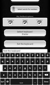 Black and White Keyboard screenshot 6