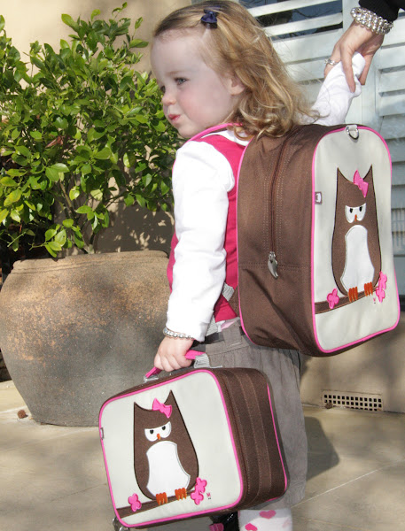 Photo: Beatrix Paper owl Lunch tote and back pack