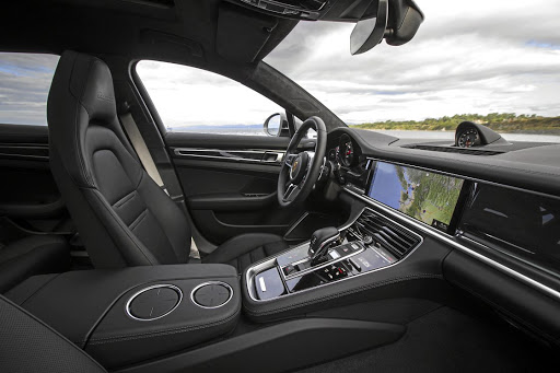 The interior of the latest generation Panamera is one of the best in terms of comfort and tech