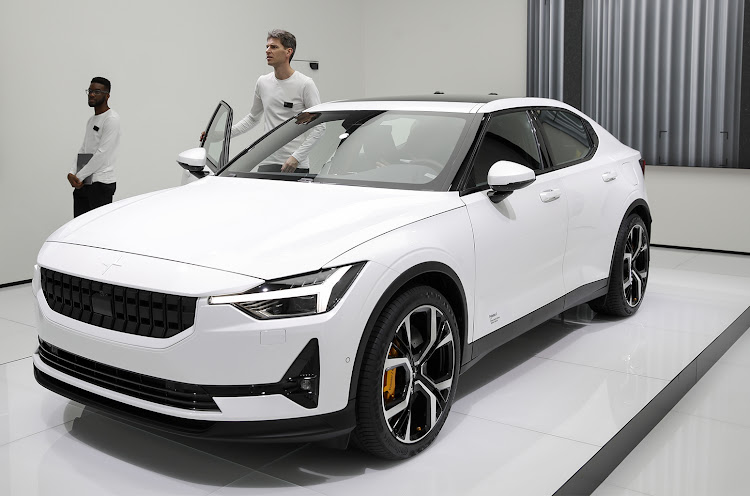 The Volvo Polestar2, revealed at the 89th Geneva International Motor Show, will only be sold online.