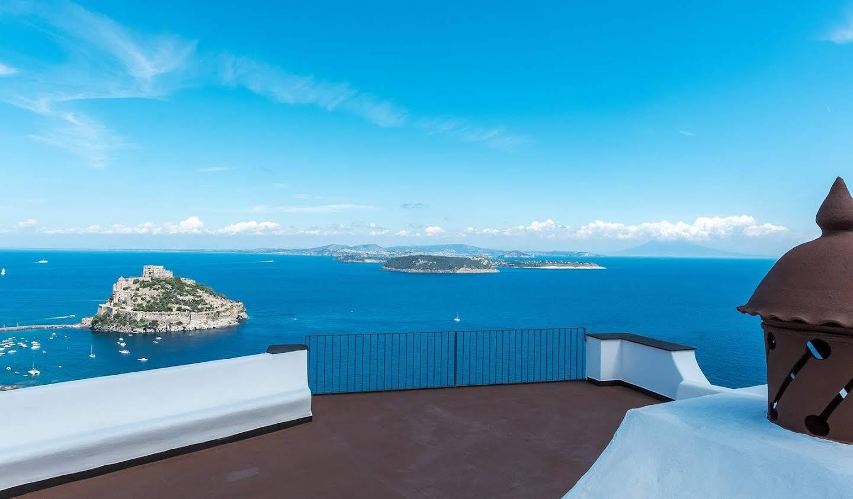 Villa with garden and terrace Ischia