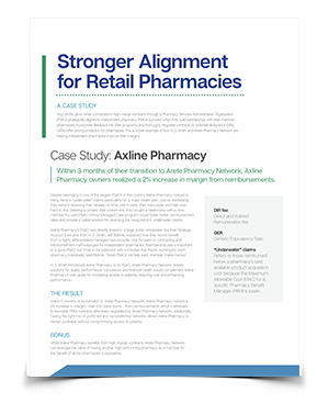 Arete Pharmacy Network - Case Study