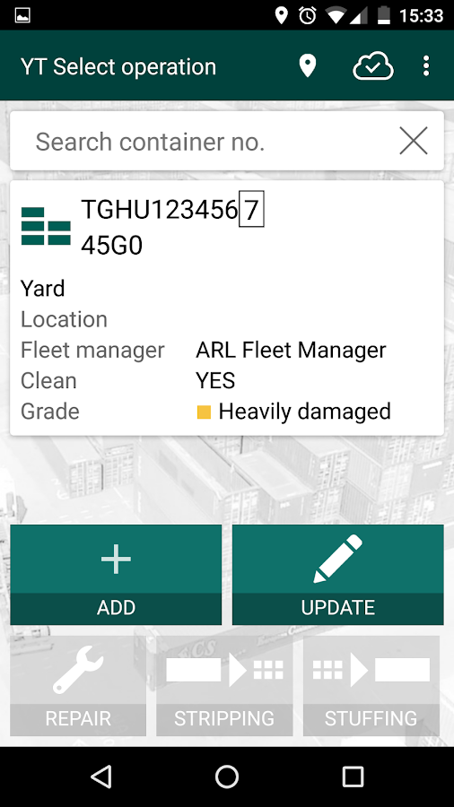 arl Yard Tally- screenshot