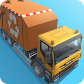 Garbage Truck Simulator PRO 2017 Android APK Download Free By Fun Blocky Games