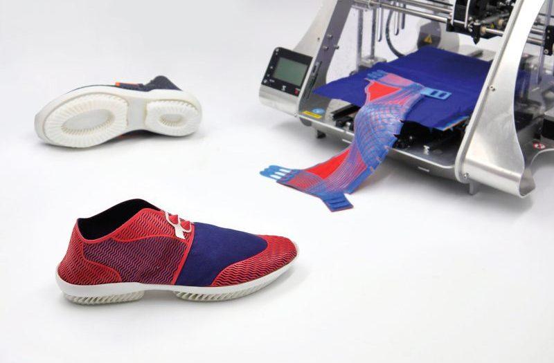 Обувь от выпускников польского дизайна 3D Print Eco-Friendly Shoe
