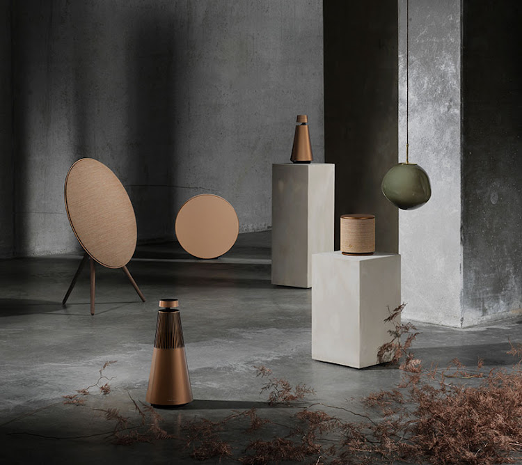 Bang & Olufsen's Bronze Collection.