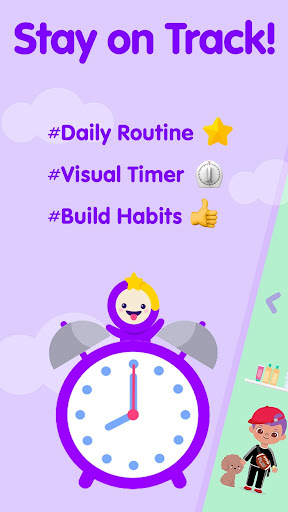Timo Kids Routine Timer - from Morning to Evening 2.1.1 Screenshots 1