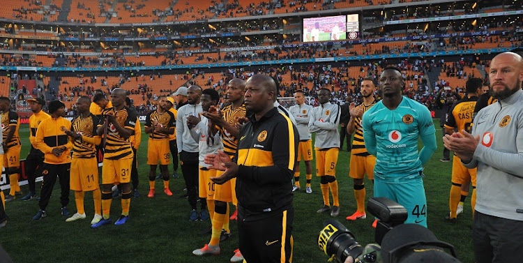 Tsietsi Majoro Kaizer Chiefs Champion Coach during the Carling Black Label Cup Match between Kaizer Chiefs and Orlando Pirates on the 27 July 2019 at FNB Stadium.