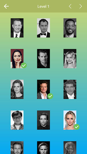 Hollywood Actors: Guess the Celebrity u2014 Quiz, Game  screenshots 3