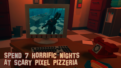 7 Nights at Pixel Pizzeria - 2 Screenshot