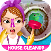 Messy House Cleanup Girls Home Cleaning Activities