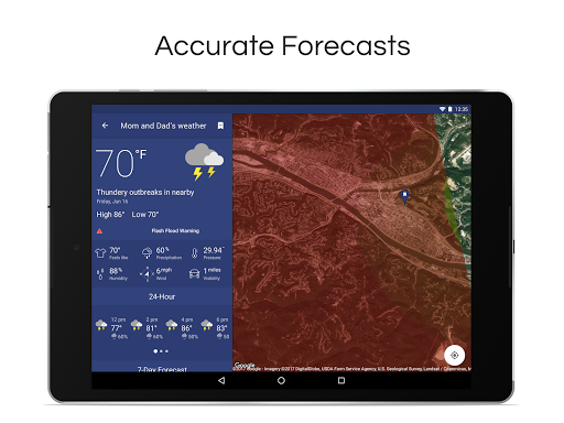 NOAA Weather Radar Live & Alerts 1.20 screenshots 12