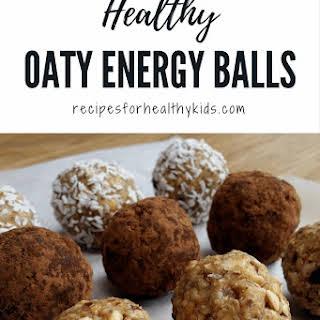 Healthy Oaty Energy Balls.