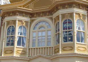 Photo: A closer look at some of the beautiful detail work on the Facades of Town Square.