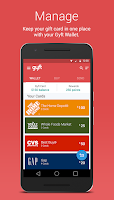 Screenshot of Gyft - Mobile Gift Card Wallet
