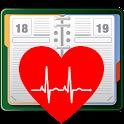 Blutdruck-Kalender einfach icon