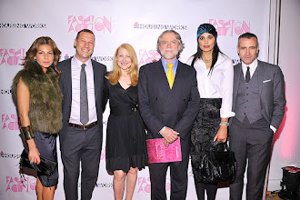 Photo: Housing Works Fashion for Action 2011 (L-R), Eva Jeanbart-Lorenzotti, Matthew Bernardo, Patricia Clarkson, Charles King, Rachel Roy, and Thom Browne attend Housing Works Fashion for Action Opening Night Benefit at Altman Building on November 16, 2011 in New York City. Photo credit: Gary Gershoff/WireImage for Housing Works  http://directory.poz.com/articles/Fashion_HIV_Housing_2051_21503.shtml