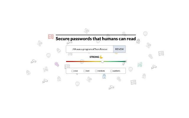 Semantic password generator