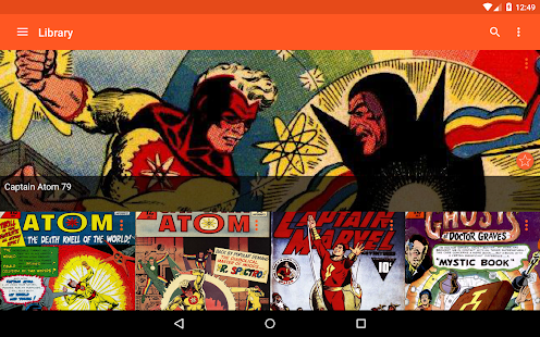 Astonishing Comic Reader- screenshot thumbnail