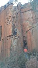 Photo: Doom is a really interesting climb...