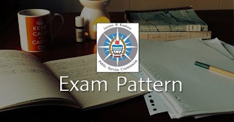 JKPSC Exam Pattern 2020