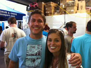 Photo: Dustin and I at a Beer Fest in Carlsbad