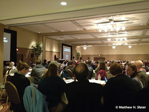 Photo: Opening remarks at AAC&U Conference: what does general education look like in 2030?