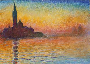 """Photo: Claude Monet, """"San Giorgio Maggiore al crepuscolo"""""""