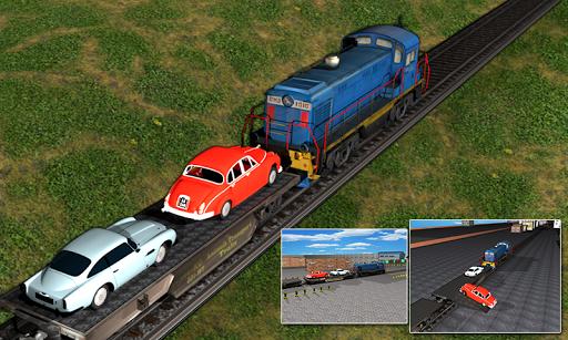 Classic Cars Transport Train