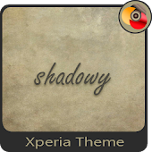 shadowy | Xperia™ Theme + icons
