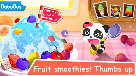 Ice Cream & Smoothies - Educational Game For Kids APK screenshot thumbnail 1