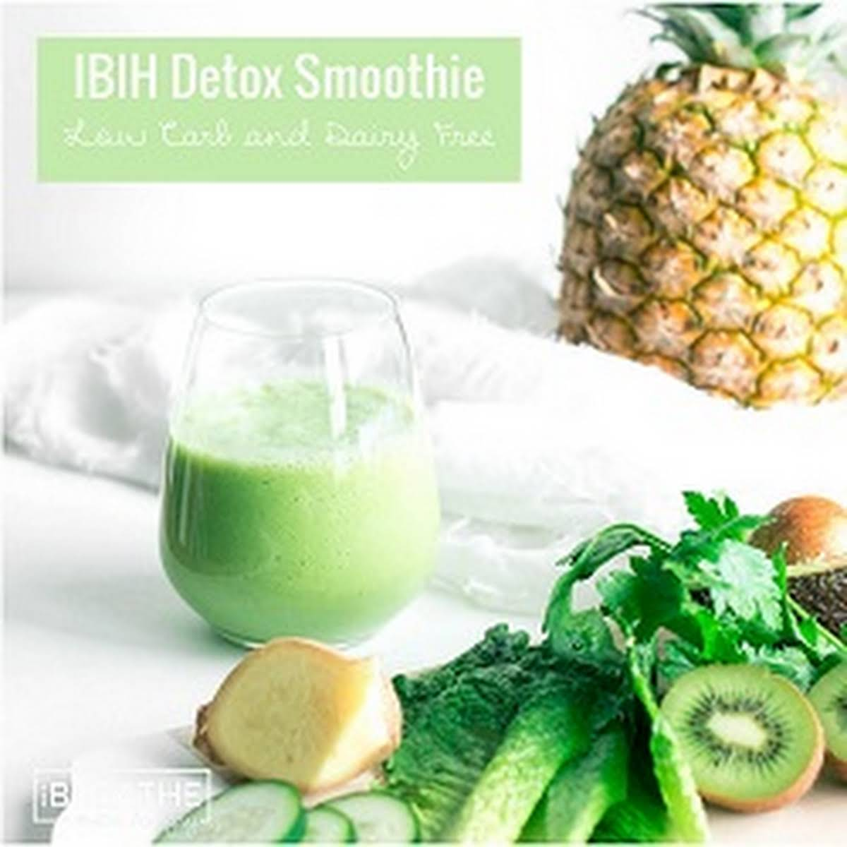 IBIH Low Carb Green Smoothie - Dairy  clear