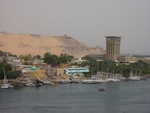 Photo: Assuan, Blick vom Hotel