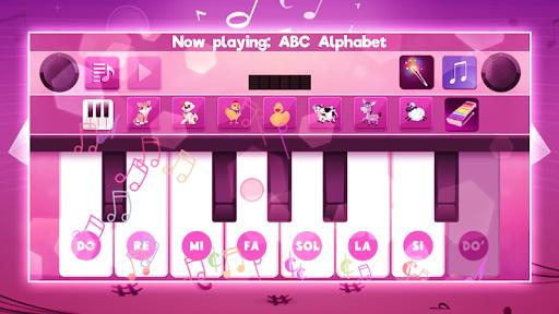 Real Pink Piano - Instruments Simulator Music Kid 1.2 screenshots 1