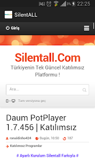 Silentall.Com- screenshot thumbnail