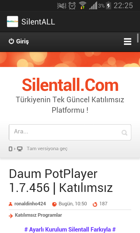 Silentall.Com- screenshot