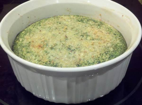 Spinach Soufflé Recipe
