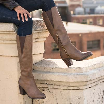 Introducing knee high boots